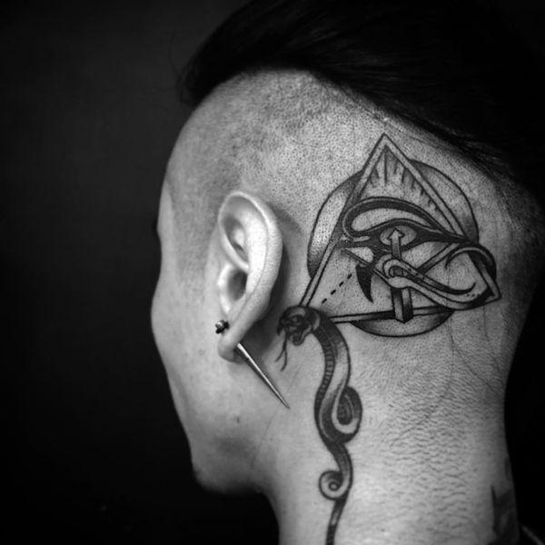 Tatouages égyptiens qui vont déranger votre esprit