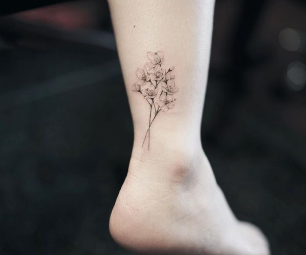 Cherry Blossom Tree Tattoo Signification et conceps