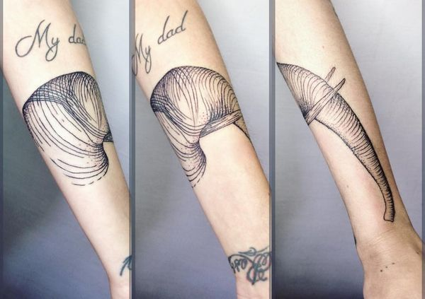 Tatouages d'éléphant qui signifie avec des dessins mignons