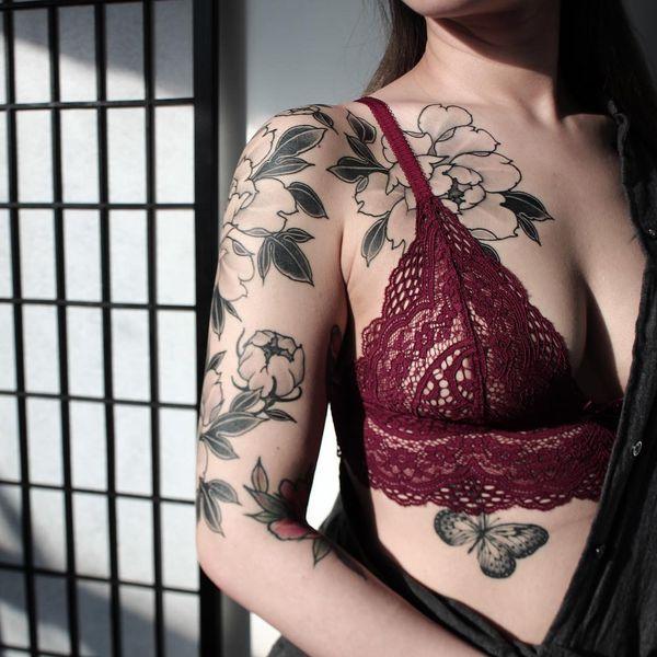 Tatouages Quarter Sleeve