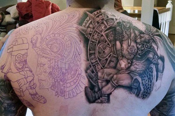 Meilleur 125 meilleurs dessins de tatouage aztèque pour les hommes