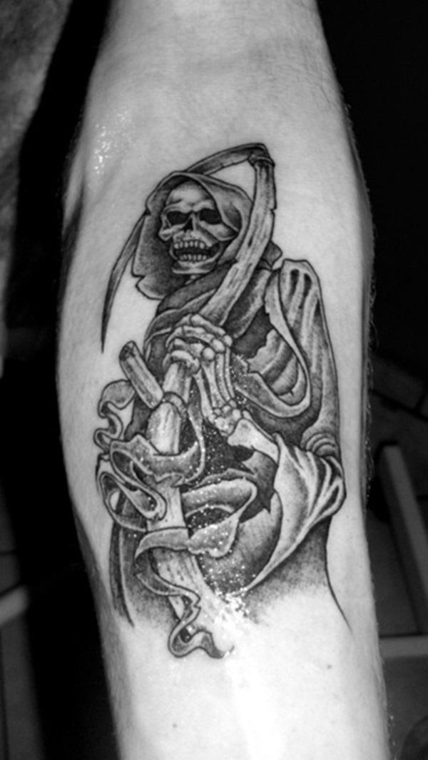 35 Daring Grim Reaper Idées et significations de tatouage