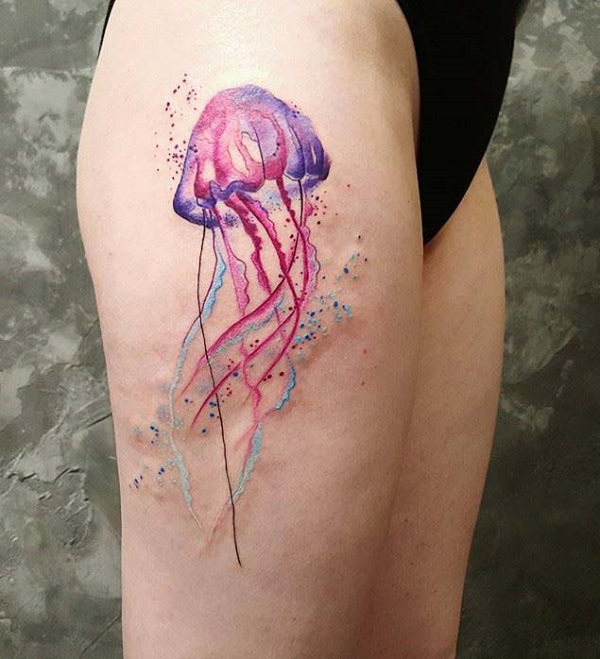 Tattoo de méduses 1