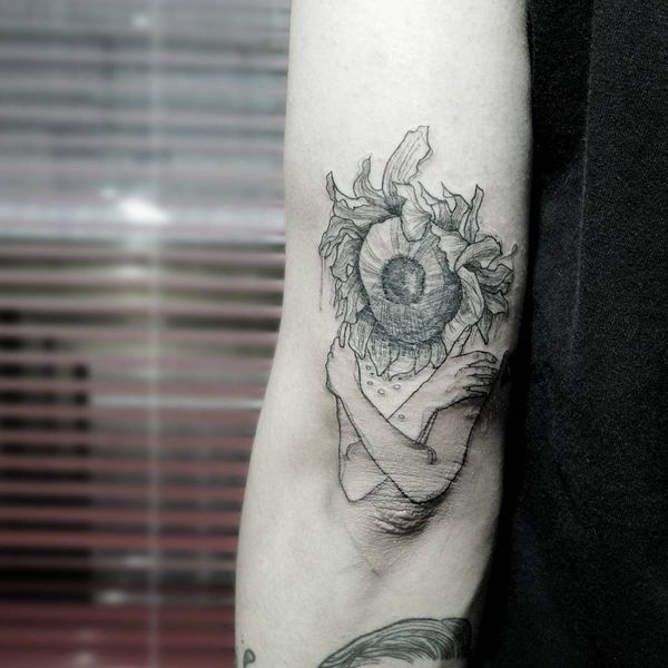 Idées et significations du tatouage de tournesol