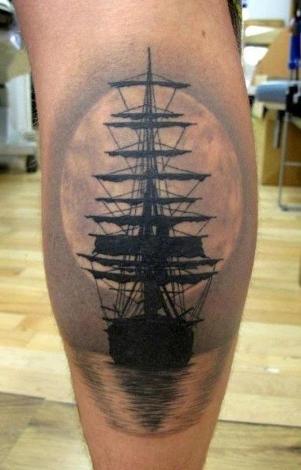 100 idées fraîches de tatouage nautique pour des amants de mer