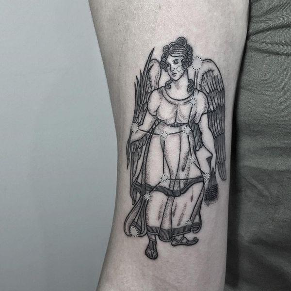 Tatouages de signe de Vierge
