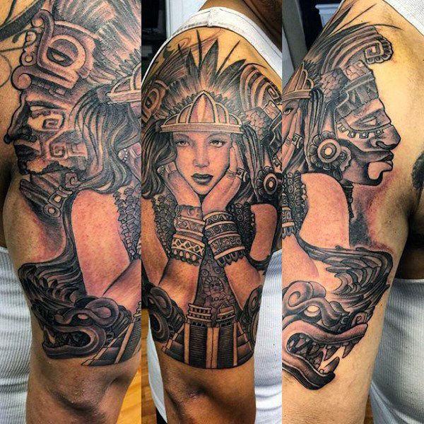 meilleur 125 meilleurs dessins de tatouage azt que pour les hommes club tatouage. Black Bedroom Furniture Sets. Home Design Ideas