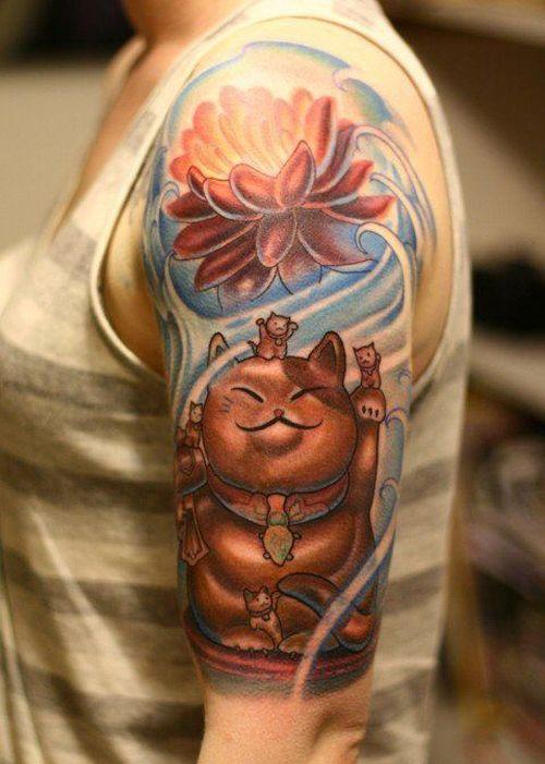 Maneki Neko Idées pour les tatouages