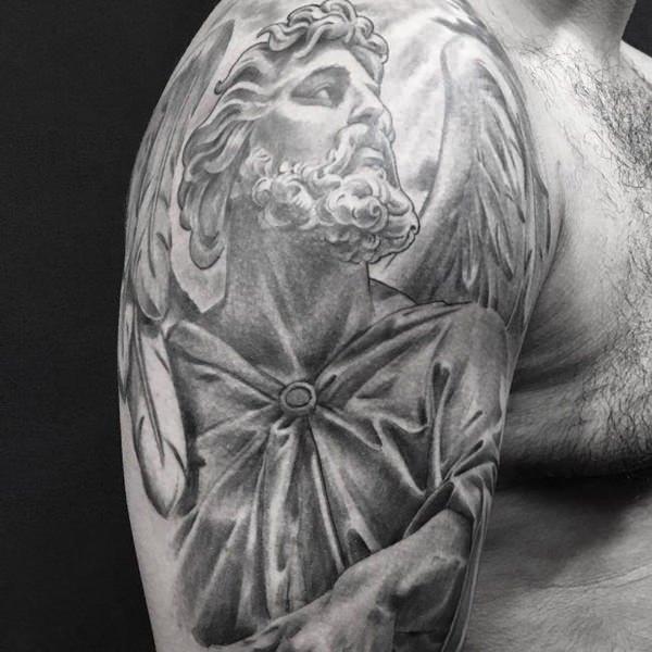 155 Tatouages anges charmants - Dessins les plus populaires de 2018