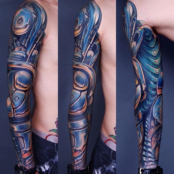 Manchon de tatouage biomécanique parfait