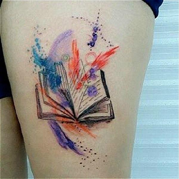 45 Idees Etonnantes De Tatouage De Livre Club Tatouage
