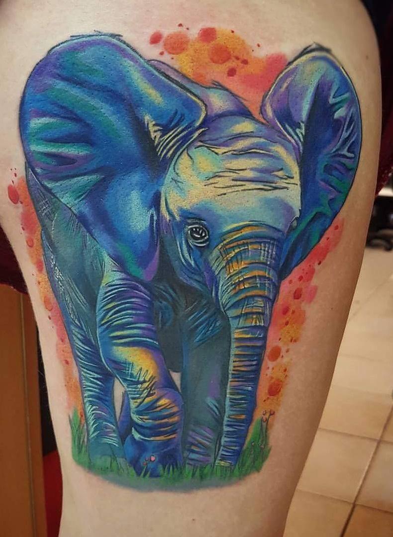 Meilleur Elephant Tattoos 2018: des idées de design avec sens