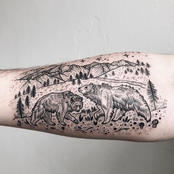 Des idées captivantes d'un tatouage d'ours