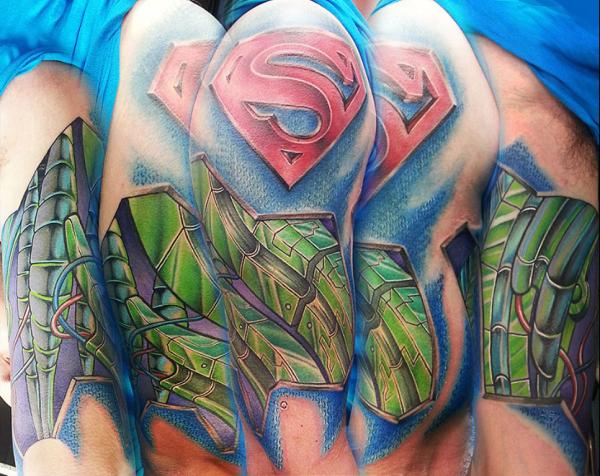 35 tatouages de Superman inspirés