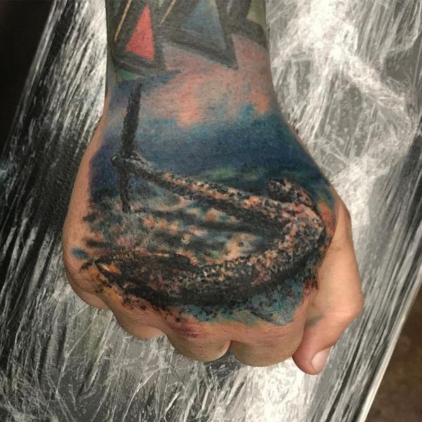 Conceptions de tatouage d'ancrage avec des significations profondes