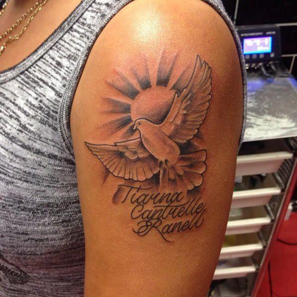 95 tatouages populaires de pigeon (avec signification)