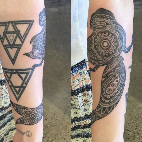 Tatouages de sirènes fascinants avec des significations symboliques