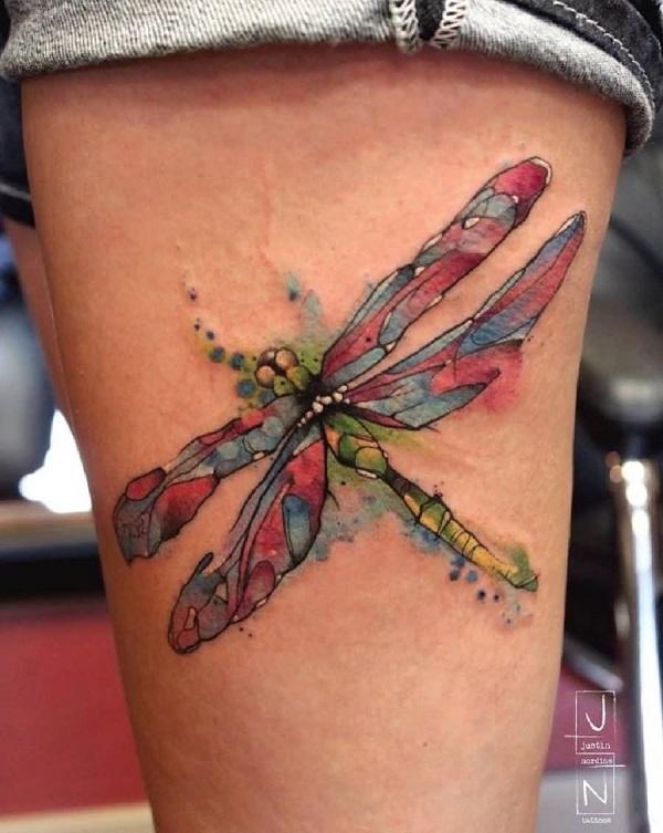 Dragonfiy tatouage 1
