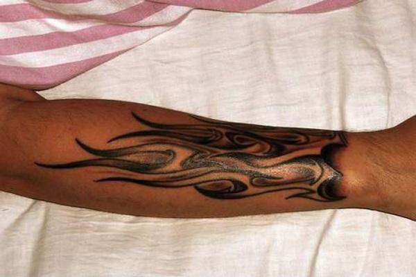 Flammes et idées de tatouage de feu 4