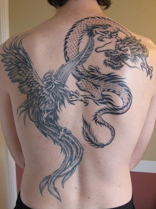 35 Phoenix Tattoo Designs et leur signification symbolique