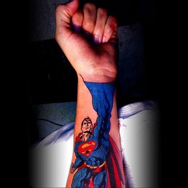 TATOUAGES SUPERMAN 3