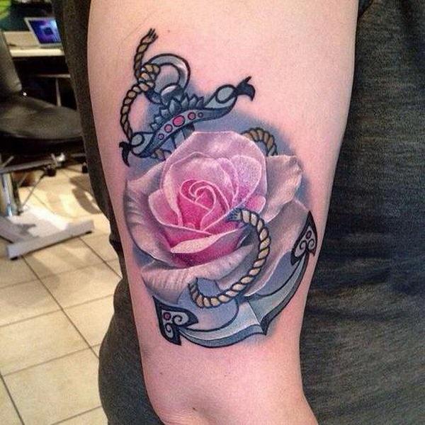 35 conceptions et significations de tatouage d'ancre