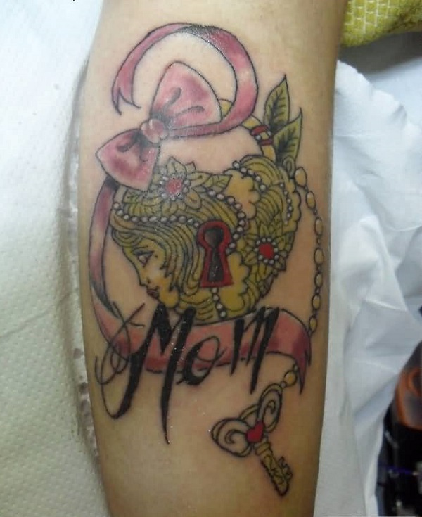 35 serrures significatives et clés de tatouages