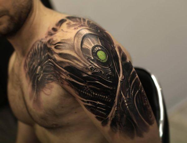 Le meilleur tatouage biomécanique
