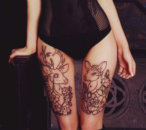 idées de tatouage de cerf 2018