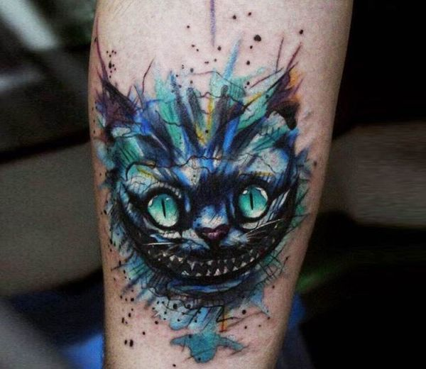 Cheshire Cat Tattoos Conceptions