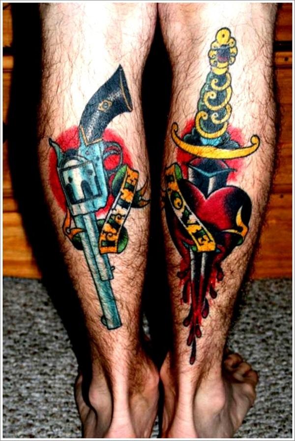 Idées de tatouage de dague et significations
