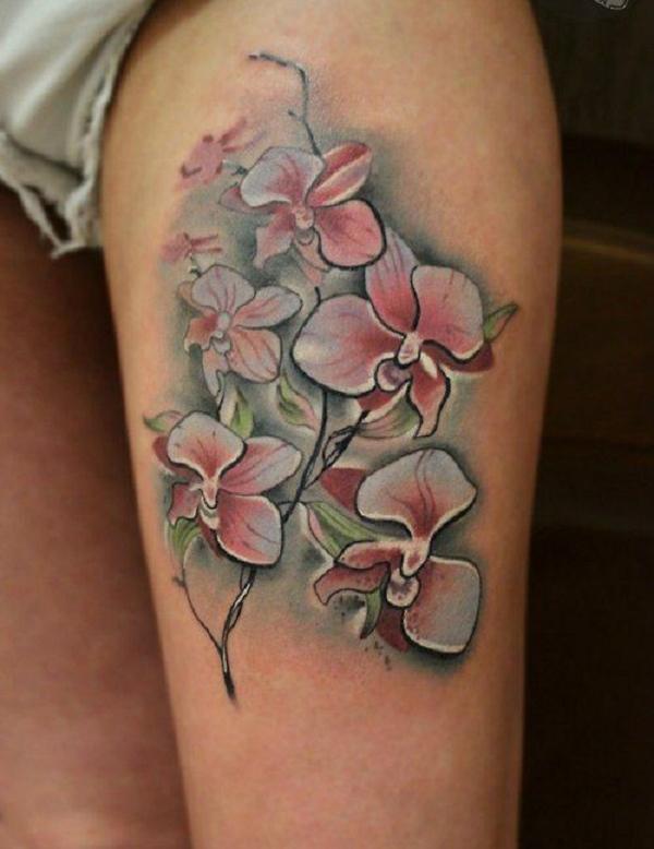 Orchidée-Tatouage-45