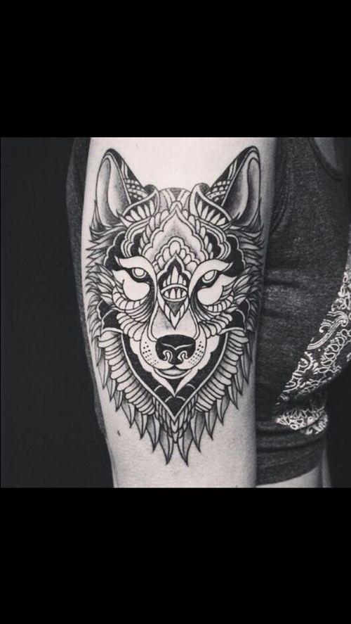 Refroidir les idées de tatouage loup tribal 2018