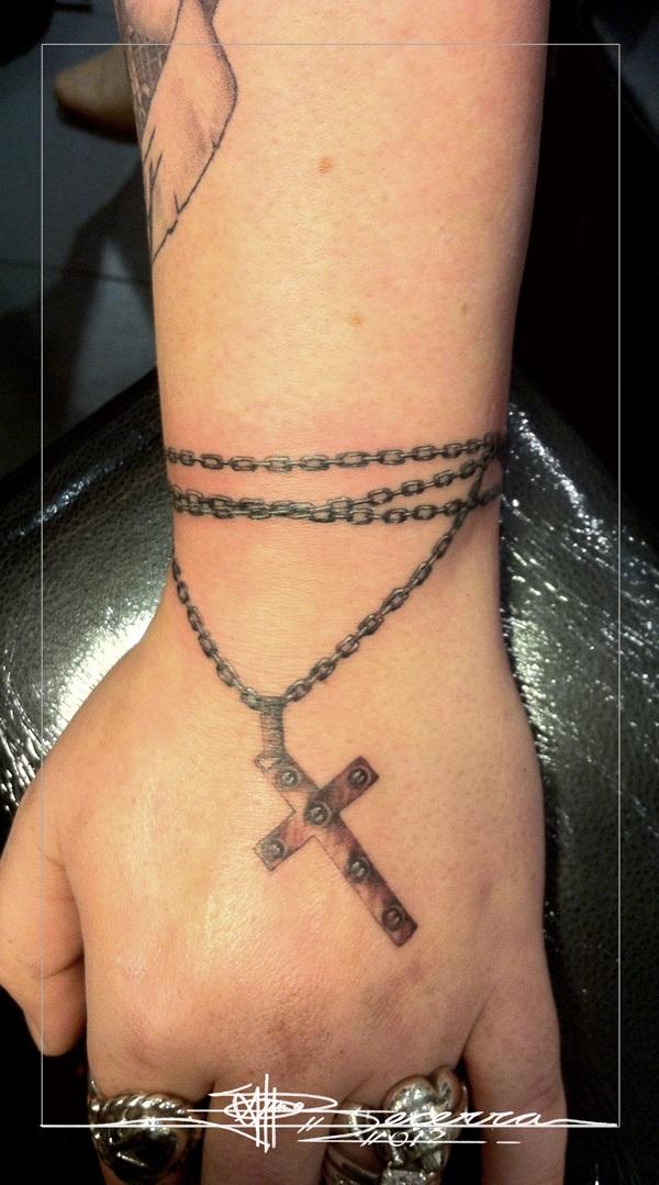 35 idées et significations étonnantes de tatouage de chaîne