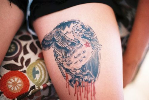 Idées étonnantes de conception de tatouage de cygne