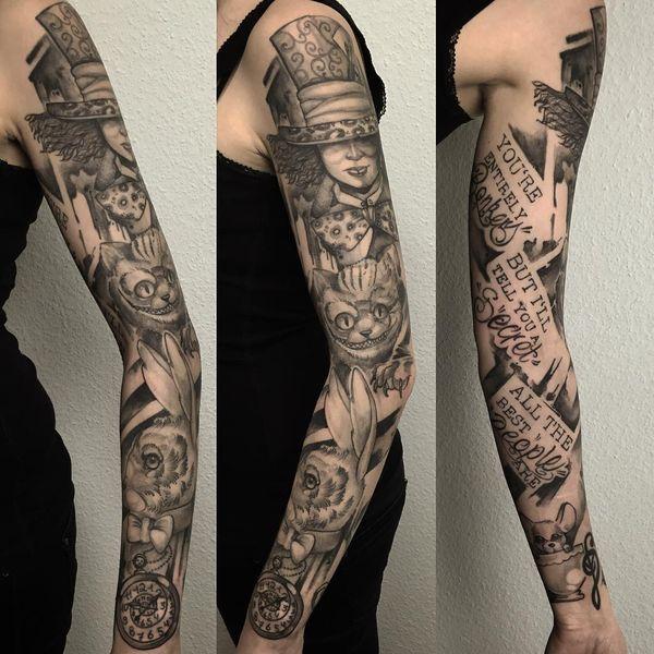 Cheshire Cat Tattoos Conceptions Club Tatouage