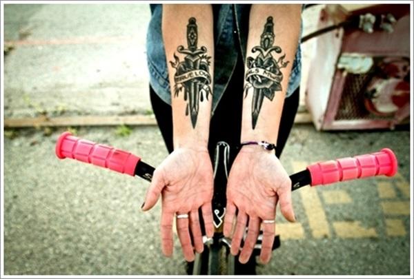 idées de tatouage de dague et significations » club tatouage