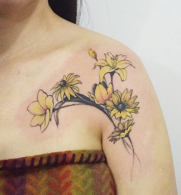 tournesol-tatouage-57