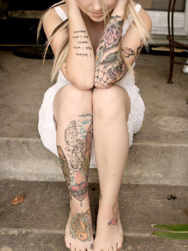 Meilleur 125 tatouages de pieds les plus populaires pour les femmes