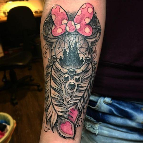 Top 50 des conceptions de tatouage de Dreamcatcher Enchanteur