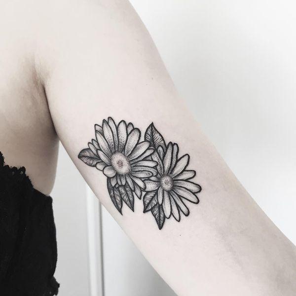 Tatouages de Daisy Flower pour tous
