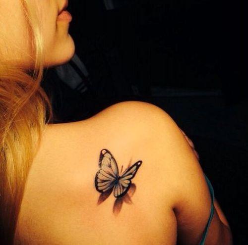 Flash papillon 3-D