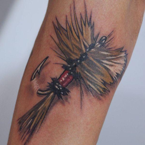 Des tatouages de hameçon fascinants avec des significations