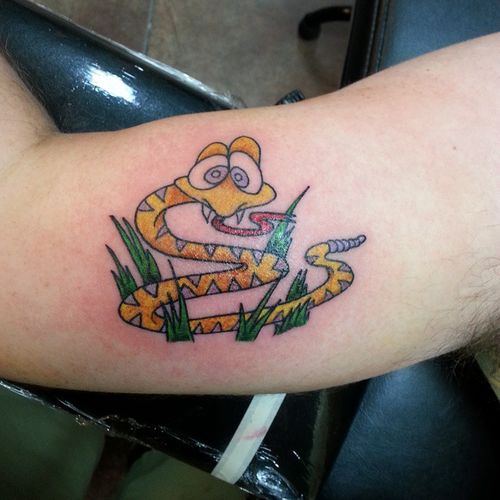 Plus de 30 petites idées de tatouage de serpent