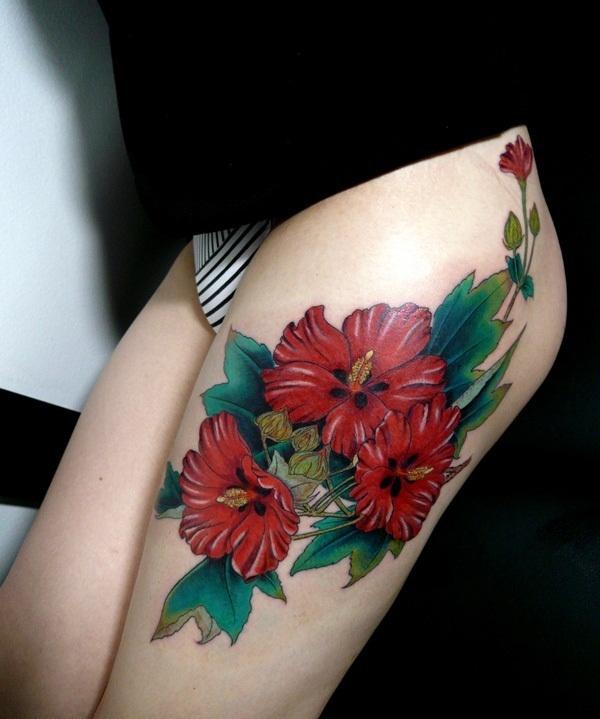 50 conceptions sexy de tatouage de cuisse pour des femmes
