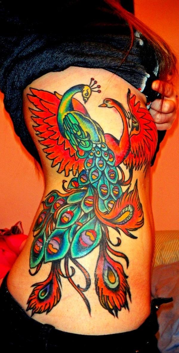 50 belles conceptions de tatouage d'oiseau pour aller avec