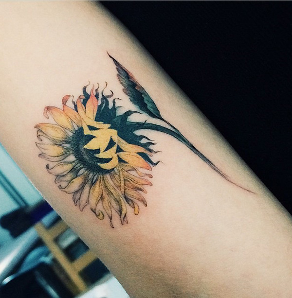 tournesol-tatouage-58