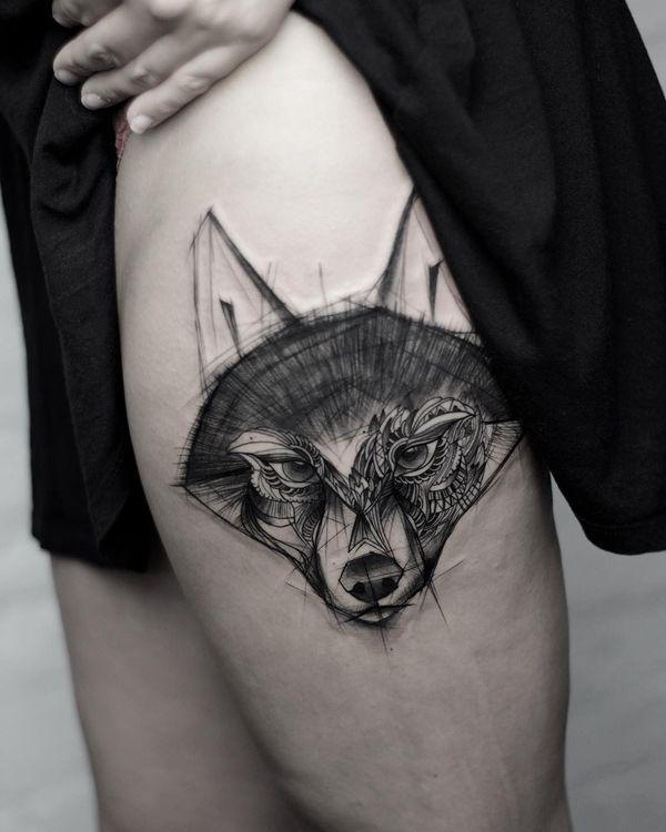Idées sexy de tatouages de la cuisse