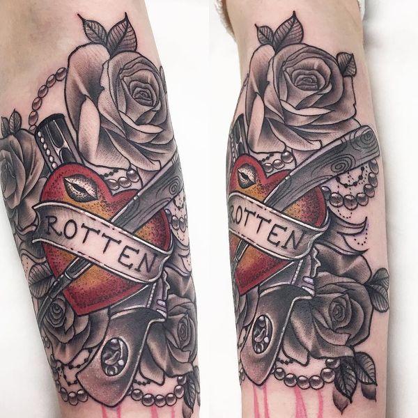 Great Harley Quinn tatouage pour les vrais fans