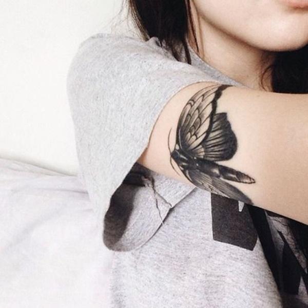 100 idées de conception de tatouage noir foncé pour la pensée